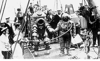 Historie potápění